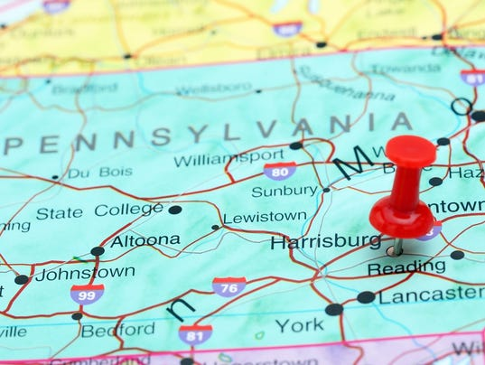 New Pa District Maps Sent To Court - Maps of pa