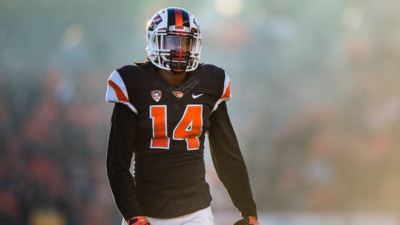 Oregon State cornerback Treston Decoud is a two-year starter for the Beavers.