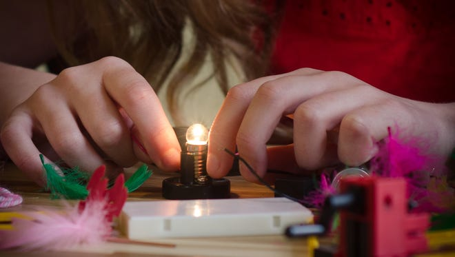 Many students at Arizona School for the Arts go on to study STEM-related subjects in college.