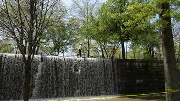 Water flooded Tyler Park and surrounding area due to a water main break last April.