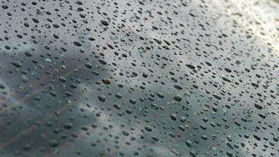 About .10 of an inch of rain fell across the Coachella Valley Monday. Normal weather conditions are expected Tuesday, a forecaster said.