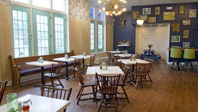 The dining room at Son of a Preacher Man in O'Bryonville