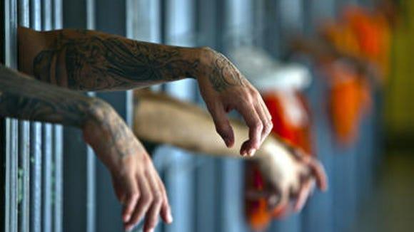 View inside Arizona's maximum security prison.