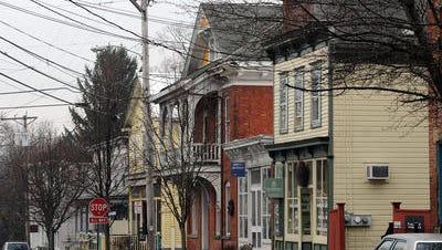 The Village of Tivoli on Sunday afternoon. Feb. 2, 2014