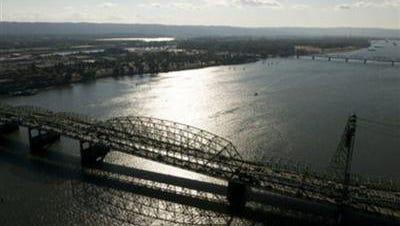 Interstate Bridge over the Columbia River.