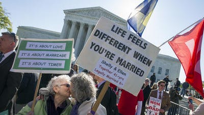 Now that universal right to marry is law of the land, the next big debate will be over churches that don't accept ruling