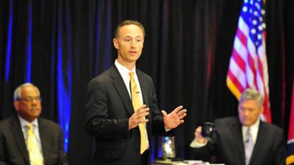 Nashville mayoral candidate David Fox