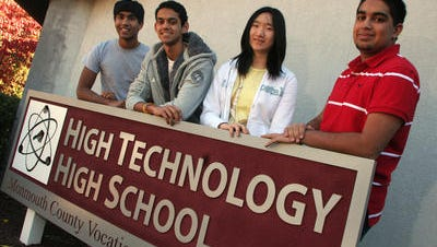 Banner day for High Technology High School