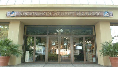 Owners of the old Jefferson Street Market building, pictured in this 2006 photo, won't have to pay some local property taxes after renovating the building.