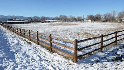 Fort Collins hopes to sell an 8.3-acre parcel at 1506 W. Horsetooth Road that is in the city's Land Bank for affordable housing. The city has owned the property, which includes horse stables, since 2003.