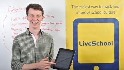 Former teacher Matt Rubinstein created LiveSchool to help teachers track student behavior.