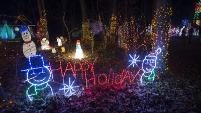 There is plenty to do with the children during the holidays, including a trip to Christmas Magic at Rocky Ridge County Park.