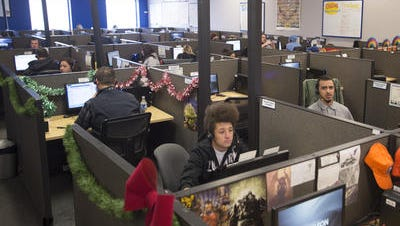 Qualfon is one of the larger employers in Fort Collins, handling telephone communication for companies like Sirius XM radio.