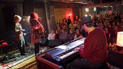 A benefit concert at Northside Tavern packed 'em in.
