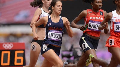 Amy Atkinson runs in the 2012 London Olympics Games. She'll be leading Guam Running Club running clinics on Saturday, July 30.