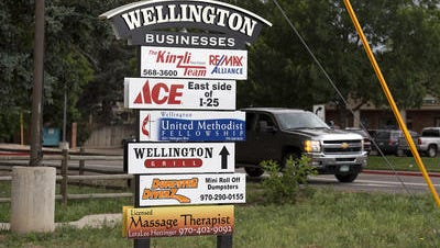 Town leaders hope a new light industrial building in Wellington draws businesses to the area.