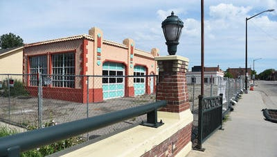 Three blocks of downtown Loveland are fenced off for construction on the South Catalyst Project on Wednesday. The project could be stalled if a judge rules that the city used improper language on its ballot measure asking voters to fund the DDA.