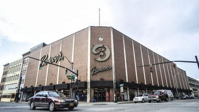 Boscov's store in downtown Binghamton.