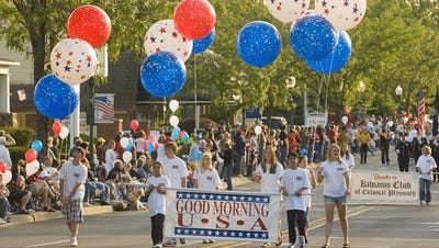 Plymouth's Good Morning USA parade is returning this year.