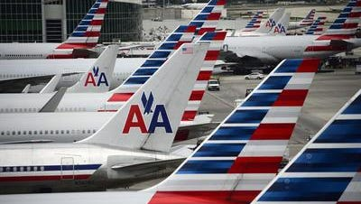American Airlines canceled flights into and out of Phoenix due to high temperatures. That includes flights out of Palm Springs International Airport.