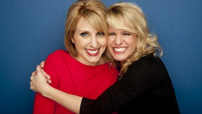 Amy Jo Clark (left) is known as Daisy, and Miriam Weaver as Mockarena. They are authors of Right for a Reason, write a blog (www.chicksontheright.com) and host the Chicks on the Right show on WIBC-FM (93.1), Indianapolis.