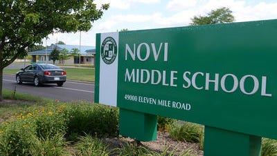 Two Novi Middle School students face charges of making a terrorist threat.