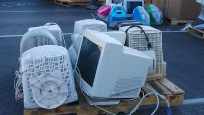 Fairfield residents can get rid of old computer gear at a May 10 recycling event sponsored by Fairfield Girl Scouts Troop 46707.