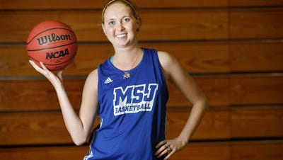 Lauren Hill and MSJ will play against Hiram at Xavier Sunday