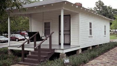 The birthplace and boyhood home of Elvis Presley is open to the public in Tupelo.