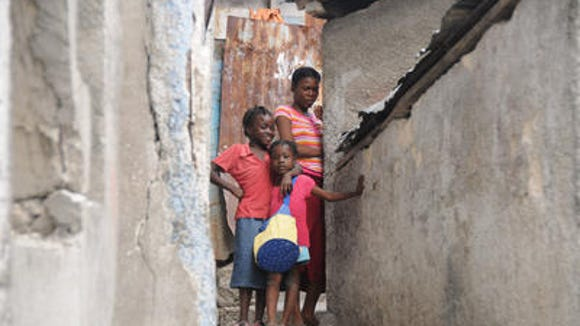 A scene of daily life in Haiti. Photo by Dr. Robert Hilgers.