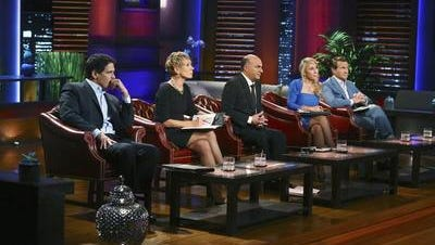 """This image provided by ABC shows """"Shark Tank"""" moguls, from left, Mark Cuban, Barbara Corcoran, Kevin O'Leary, Lori Greiner, and Robert Herjavec. The show, now in its fifth season, airs Fridays at 9 p.m. EDT."""