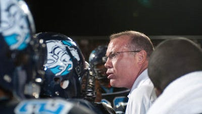 Kevin Belcher, who opened Betty Fairfax High as its  first football coach in 2007, has stepped  down to become  athletic director.