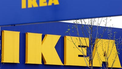 In this April 27, 2006 file photo, an exterior view of the Ikea furniture store. Ikea's U.S. division is raising the minimum wage for thousands of its retail workers, pegging it to the cost of living in each location, instead of its competition.