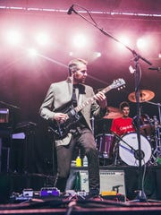 The X Ambassadors perform  at 2017's Cayuga Sound festival