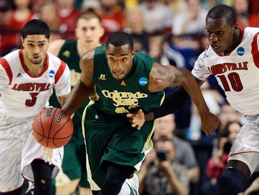 NCAA Basketball: NCAA Tournament-Colorado State vs Louisville