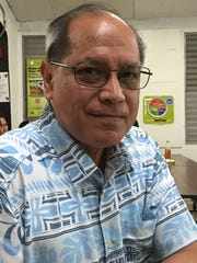 Vince Leon Guerrero is Gov. Eddie Calvo's special assistant for climate change and education.