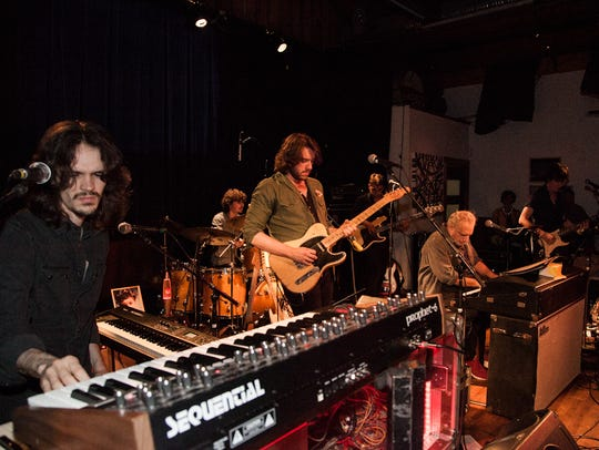 Donald Fagen and the Nightflyers, from left, Will Bryant,