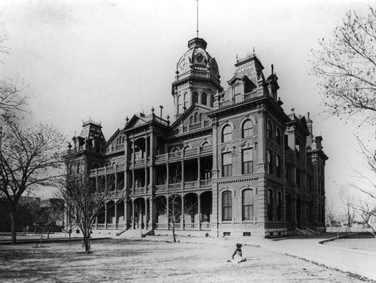 1886 EL PASO COUNTY COURTHOUSE
