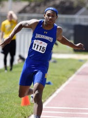 Jeremia Ary of SDSU competes in the men's triple jump