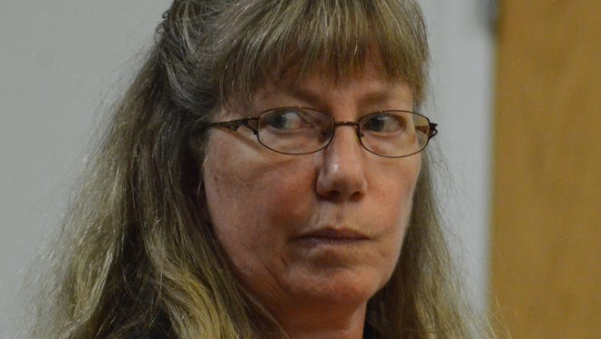 Kimberly Hommerding enters a guilty plea on Monday, Sept. 25, 2017.