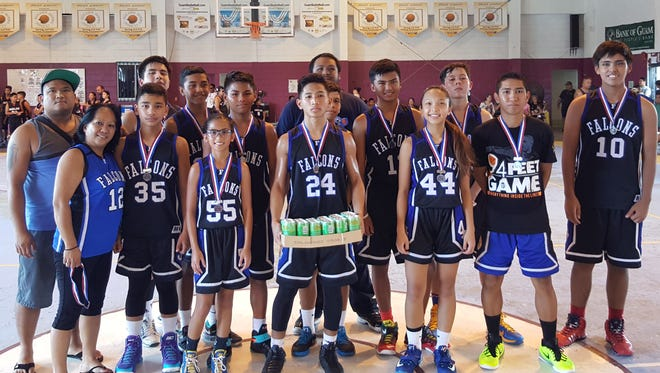 This photo shows the MTM Falcons 14U club team, who placed second in the 2015 SummerJam Basketball Tournament. The tourney kicks off action on June 22.