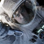 """Gravity,"" with George Clooney, has 11 nominations."