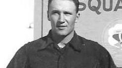 Bill Kunze in the Air Force in 1953.