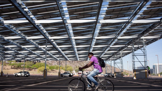 Arizona State University officials said they are strong supporters of solar despite a donation to a political group that attacked candidates supported by the rooftop solar industry.
