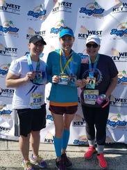 From left, Lisa Blackhurst, Jill Hazelton and Nichole