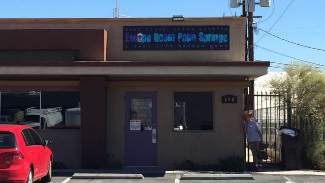 Escape Room Palm Springs is located at 560 S. Williams Rd., Palm Springs.