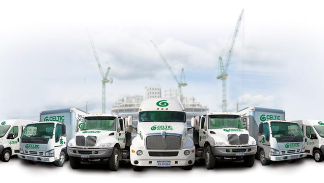 Trucks for Celtic Building Supplies in Yonkers