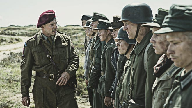 "Roland Moller stars as a terrorizing sergeant in ""Land of Mine."" Roland Møller in ""Land of Mine."""