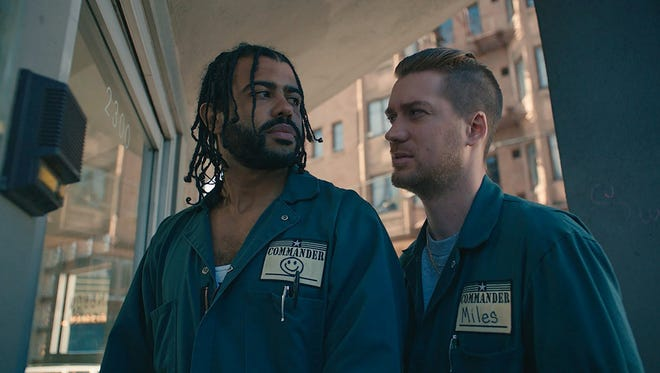 """Daveed Diggs (left) and Rafael Casal (right) in """"Blindspotting."""""""