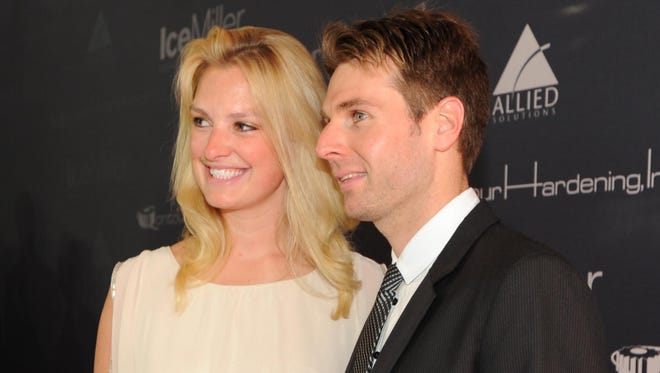 Liz and Will Power are IndyCar's first couple now that he's won the series championship